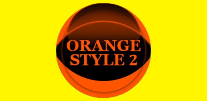 Orange Icon Pack Style 2 ✨Free✨ apk