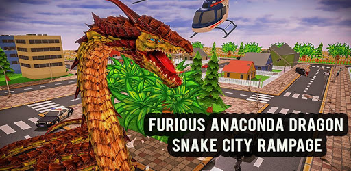 Furious Anaconda Dragon Snake City Rampage apk