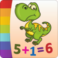 Dinosaurs Coloring Book Icon