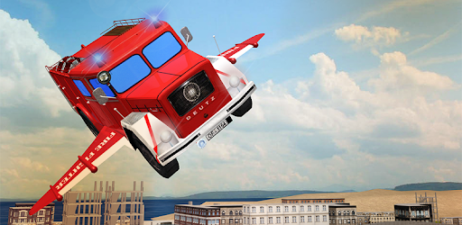 Flying Firefighter Truck 2016 apk