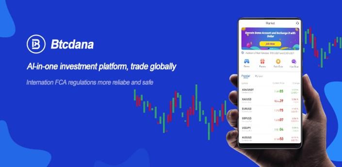 BtcDana—Making money online apk