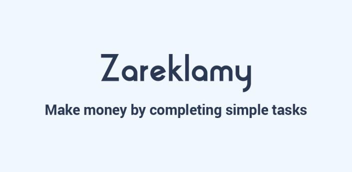 Zareklamy - Make money online for free apk