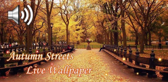 Autumn Streets Live Wallpaper apk