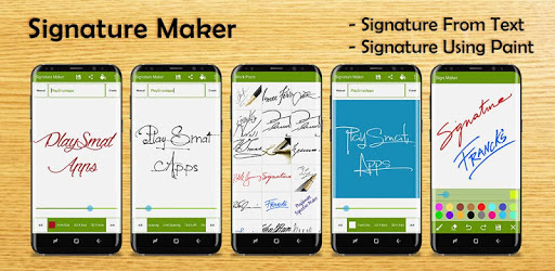 Fancy Signature Maker : Signature Creator Free apk