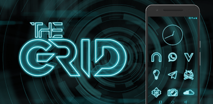 The Grid - Icon Pack (Free Version) apk
