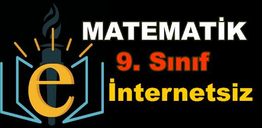 9. Sınıf Matematik Konu Anlatımı Ders Notları Soru apk