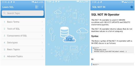 Learn SQL apk