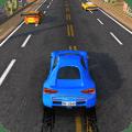 City Car Traffic Race Icon
