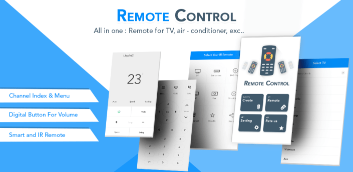 Universal-Remote Control for All TV,Ac,Set Top Box apk