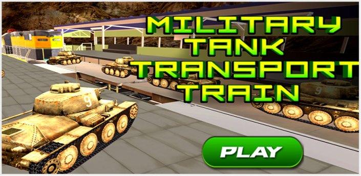 Military Tank Transport Train apk