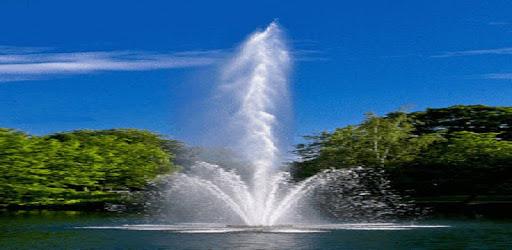 Lake Fountain Live Wallpaper apk