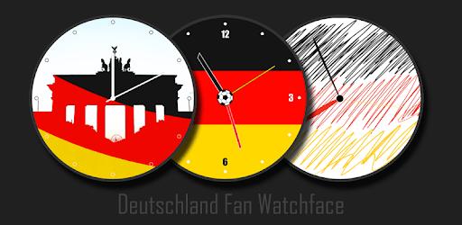 Deutschland Watchface für Fans apk