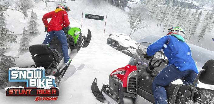 Snow Bike Stunts - Bike Racing Game 2020 apk