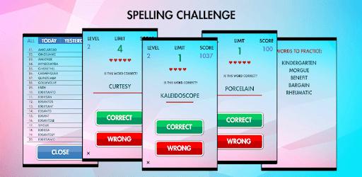 Spelling Challenge PRO apk