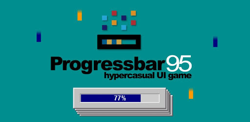 Progressbar95 - easy, nostalgic hyper-casual game apk