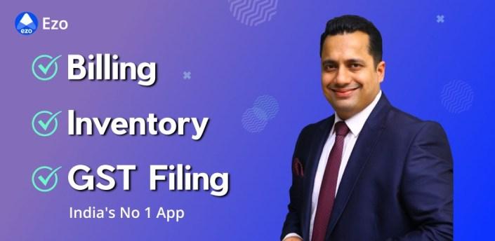 Billing, Inventory, GST Filing, Online Dukan - EZO apk