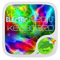 Electric Neon Go Keyboard Icon