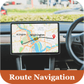 GPS driving directions & voice route navigation Icon
