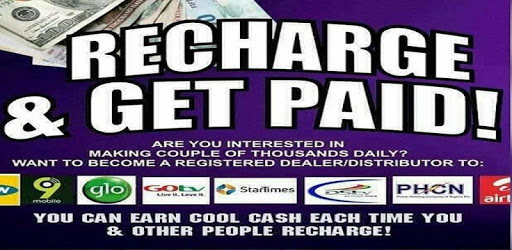 Recharge and get paid Nigeria apk