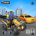 Taxi Cab ATV Quad Bike Limo City Taxi Driving Game Icon