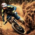 MTB - bicycle race Icon