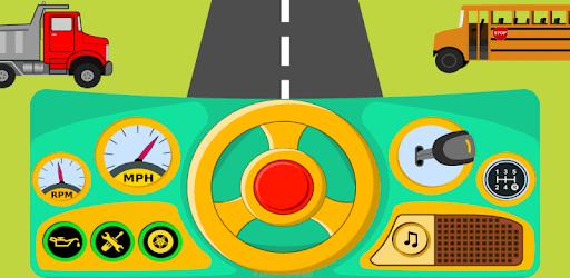 Car Driving Simulator (Car sound game for babies) apk