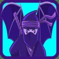 Ninja  Hero and  Vampire Hero Jump - Halloween Icon
