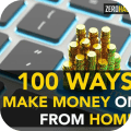 100 Ways Making Money Online From Home Icon