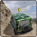 Off-road Army Jeep Icon