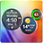 Rings Digital Weather Clock Icon