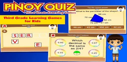 Pinoy 3rd Grade Learning Games apk
