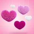 Fluffy Hearts Wallpapers Icon