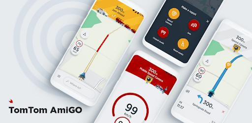 TomTom AmiGO - GPS, Speed Camera  & Traffic Alerts apk
