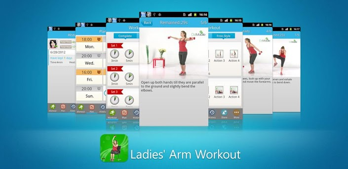Ladies' Arm Workout FREE apk
