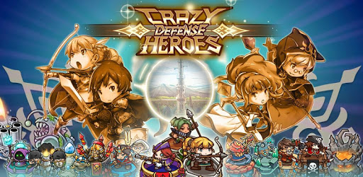 Crazy Defense Heroes: Tower Defense Strategy TD apk
