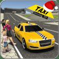 City Taxi Driver 3D Icon