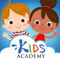 Kids Academy: Pre-K-3 learning & educational games Icon