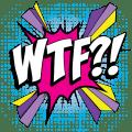Dirty Word Emoji Stickers Icon
