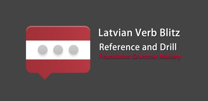Latvian Verb Blitz Pro apk