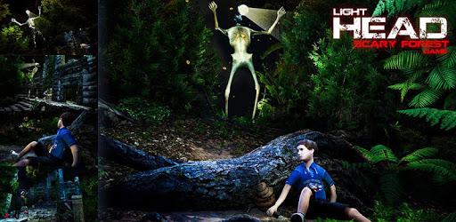 Light Head Scary Horror Forest: Siren Head Game apk