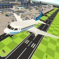 Toon Plane Landing Simulator Icon