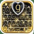 Luxurious Black Keyboard Theme Icon