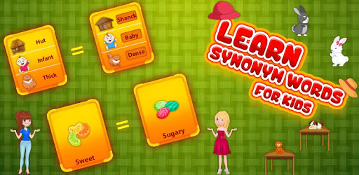 Learn Synonym Words for kids - Similar words apk