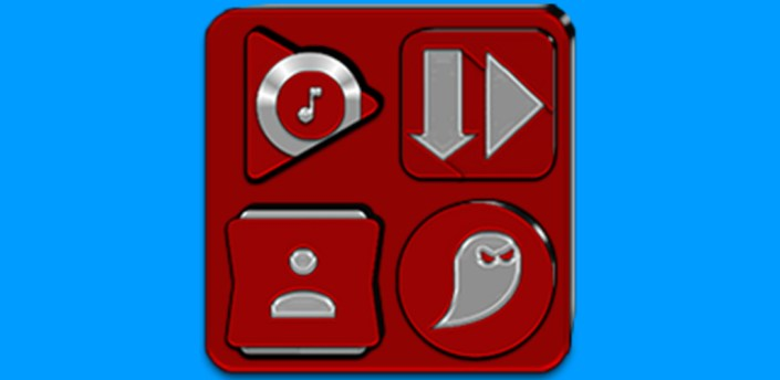 Red Icon Pack v8.3 (Free) apk