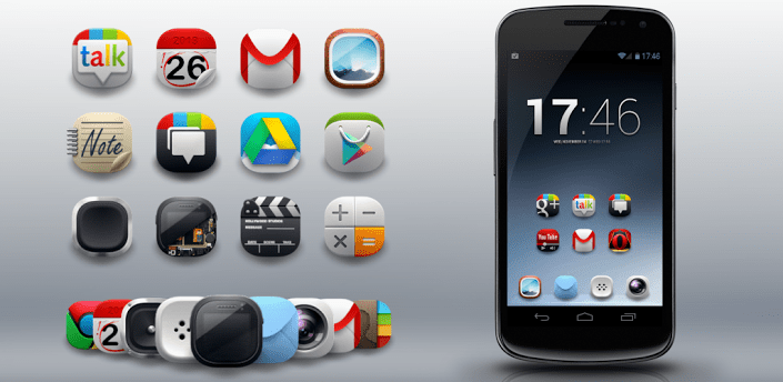 Modern Android Icon Pack apk