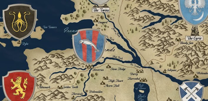 Westeros Map (Game of Thrones) apk