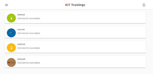 ICT Trainings (Official) apk