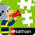 Large Puzzle Firefighters Icon