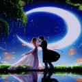 Romantic Couple Live Wallpaper Icon