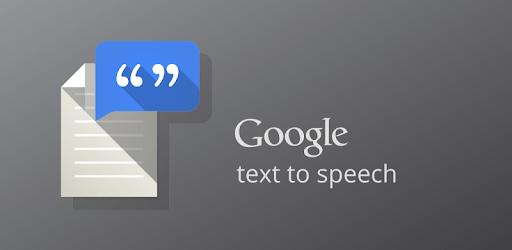 Google Text-to-speech apk